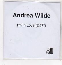 (FL705) Andrea Wilde, I'm In Love - DJ CD