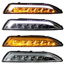 CARDNA LED Frontblinker + Standlicht für VW Scirocco 3 III Bj. 2008- Chrom