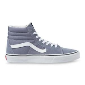 """Vans """"Sk8-Hi"""" Sneakers (Blue Granite/True White) Skate High-Top Shoes"""