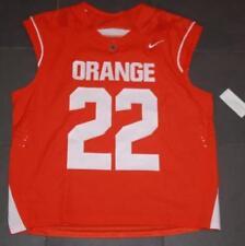 Nike Syracuse Orange #22 Lacrosse Fast Break Game Jersey LG Gait Powell Sewn $90