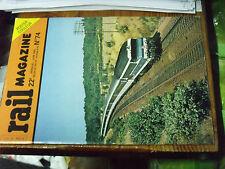 10µ Revue Rail Magazine n°74 230 D Nord Adieu Metro d'hier Lyon-Nantes