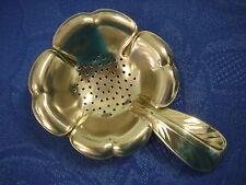 Teesieb Teefilter Blume Floral TEA versilbert silver plated Punze ELLDEE 654