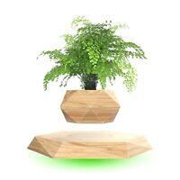 Levitating Air Bonsai Pot Magnetic Rotation Floating Flower Plant Pot Home Decor
