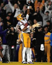 TRAVIN DURAL HAND SIGNED LSU TIGERS 8X10 PHOTO W/COA