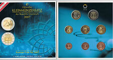 AUTRICHE - COFFRET BU 2007 - 2 EURO = TRAITE DE ROME - réf : 16 189 4