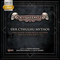 BIBLIOTHEK DES SCHRECKENS - DER CTHULHU MYTHOS U.A.-BOX 1  2 MP3 CD NEU