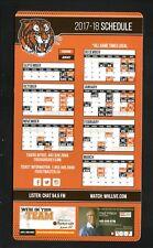 Medicine Hat Tigers--2017-18 Magnet Schedule--WHL