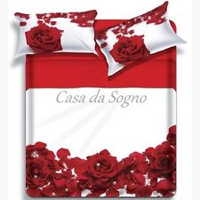 "Trapunta/Piumone matrimoniale ""Biancaluna"" mod.""Fleur"""