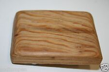 Nice Natural Vintage Wooden Skateboard Deck Skater Custom Belt Buckle HTF