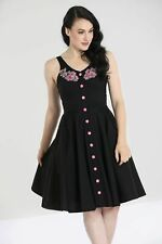 Hell Bunny Lucy Mid Swing Retro Vintage Day Tea Dress