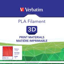 Verbatim 3d Printer Filament PLA 1.75 Mm 1 Kg Red for Printers 55270