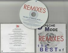 DEPECHE MODE The Best Of Volume 1: Remixes genuine 2006 European 8-trk promo CD