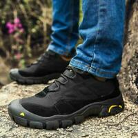 Mens Outdoor Shoes Military Tactical Combat Boots Climbing Hiking Desert Casual