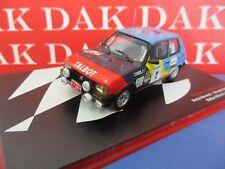 Die cast 1/43 Modellino Auto Talbot Samba Rally Villa de Llanes 1984