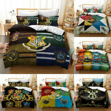 Harry Potter Quilt Cover 3PCS Bedding Set Duvet Cover Pillowcase Comforter Cover