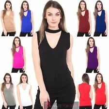 V Neck Women's Cut Out