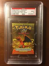 Pokemon Expedition Booster Pack Charizard Artwork PSA 9 MINT