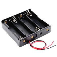 Boitier Coupleur 4 Accus 18650 Li-ion Bloc Support Fil Pile Battery Holder Case