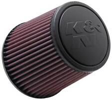 """RE-0930 K&N Universal Rubber Air Filter 3""""ID FLG, 6""""OD-B, 4-5/8""""OD-T, 6""""H (KN Un"""