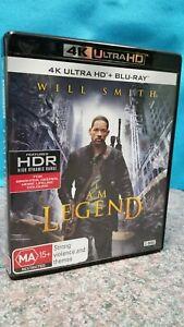 I AM LEGEND 4K ULTRA HD + BLU-RAY - FREE POST