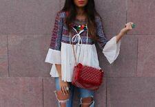 Zara Hip Length Cotton Coats & Jackets for Women
