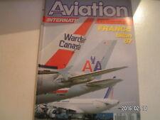 **b Aviation international magazine n°952 Ariane V20 / MDD F-18 / Milipol 87