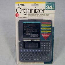 NEW Royal DM75EX Personal Organizer 34Kb Business LCD Display Electronic NOS