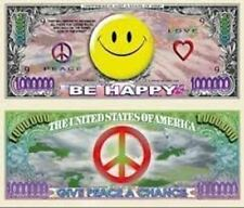 Smiley Face Million Dollar Bill - Set of 100