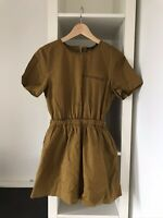 Zara Khaki Skort Playsuit Size M Womenswear Summer