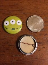 "Toy Story Alien disney pixar fanmade 1"" pin / button king of buttons"