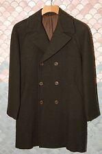 KITON Dark Green Wool/Cashmere Overcoat EU 50, US 40,  R, NOS, Mint