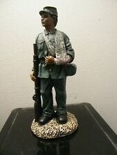 Wounded African American Statue Figure Black Civil War Soldier