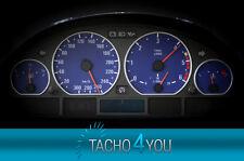 Tachoscheiben für BMW 300 kmh Tacho E46 Diesel M3 Blau 3320 Tachoscheibe km/h
