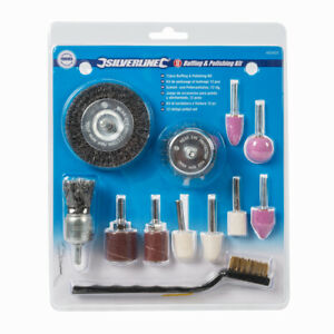 12 piece Buffing, Polishing, Cleaning, Grinding & Sanding Tool Kit