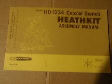 Heathkit manuales >> comprobar la flecha hacia abajo para la lista <<