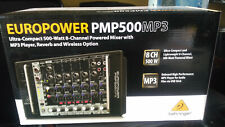 MIXER Behringer PMP500MP3 500W  8 Canali Amplificato