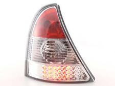 Coppia Fari Fanali Posteriori Tuning LED Renault Clio (B) 01-04, cromato