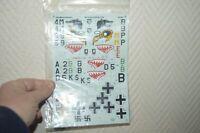 DECALCOMANIE AEROMASTER MAQUETTE AVION MESSERSCHMIDT BF-110S 1/48 DECAL