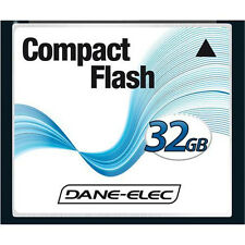 Dane-Elec 32GB Compact Flash Memory Card for Canon EOS 20D 30D 40D