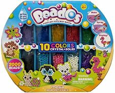 Beados Crystal + Solid Mega Bead Refill Pack - 2000 Beads. Delivery is Free