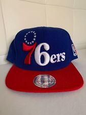 Philadelphia 76ers Mitchell & Ness Snapback hat