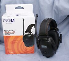 SYNC Electo Radio Earmuffs with Voice Pickup Mic by Honeywell / Howard Leight