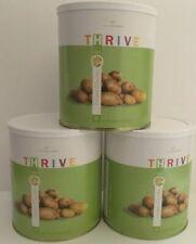LOT of 3 #10 Can THRIVE Shelf Reliance Freeze Dried Emergency Food POTATO CHUNKS