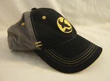 Gander Mountain Trucker Cap Baseball Hat Black Gray Snapback Back Moisture Mgmt
