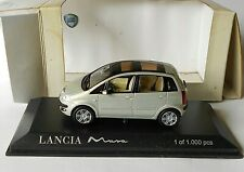 Lancia Musa Double Sunroof  Metallic Silver Norev 1/43 Diecast Limited 1000