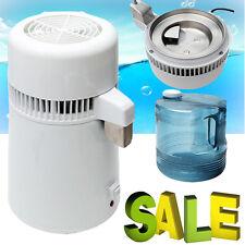 4L Internal Pure Water Distiller Water Filter Distilled 750W 110/220V Newest FDA