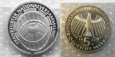 1973 Germany Silver Proof  5 Marks  Frankfurt Parliament 125 years