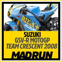 Kit Adesivi Suzuki GSV-R Team Rizla Crescent MotoGP 2008 - High Quality Decals