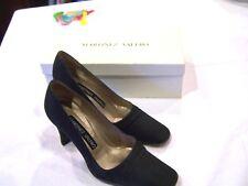 Martinez Valero navy blue fabric pumps/heels/shoes Alison sz. 6.5M original box