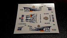 Decal 1/43 Porsche Gt1 LE MANS